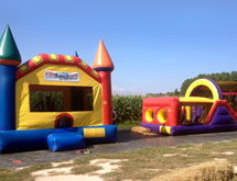 Bounce House and Obstacle Course