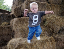 Straw Bale Maze and Castle