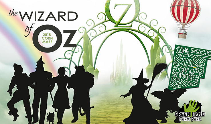 Giant Corn Maze 2017 - Wizard of Oz