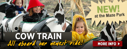 Cow Train - New ride for 2014!