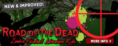 Road of the Dead - Zombie Survival Course - Paintball Wagon Ride